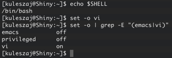 Setting up vi-mode in Bash