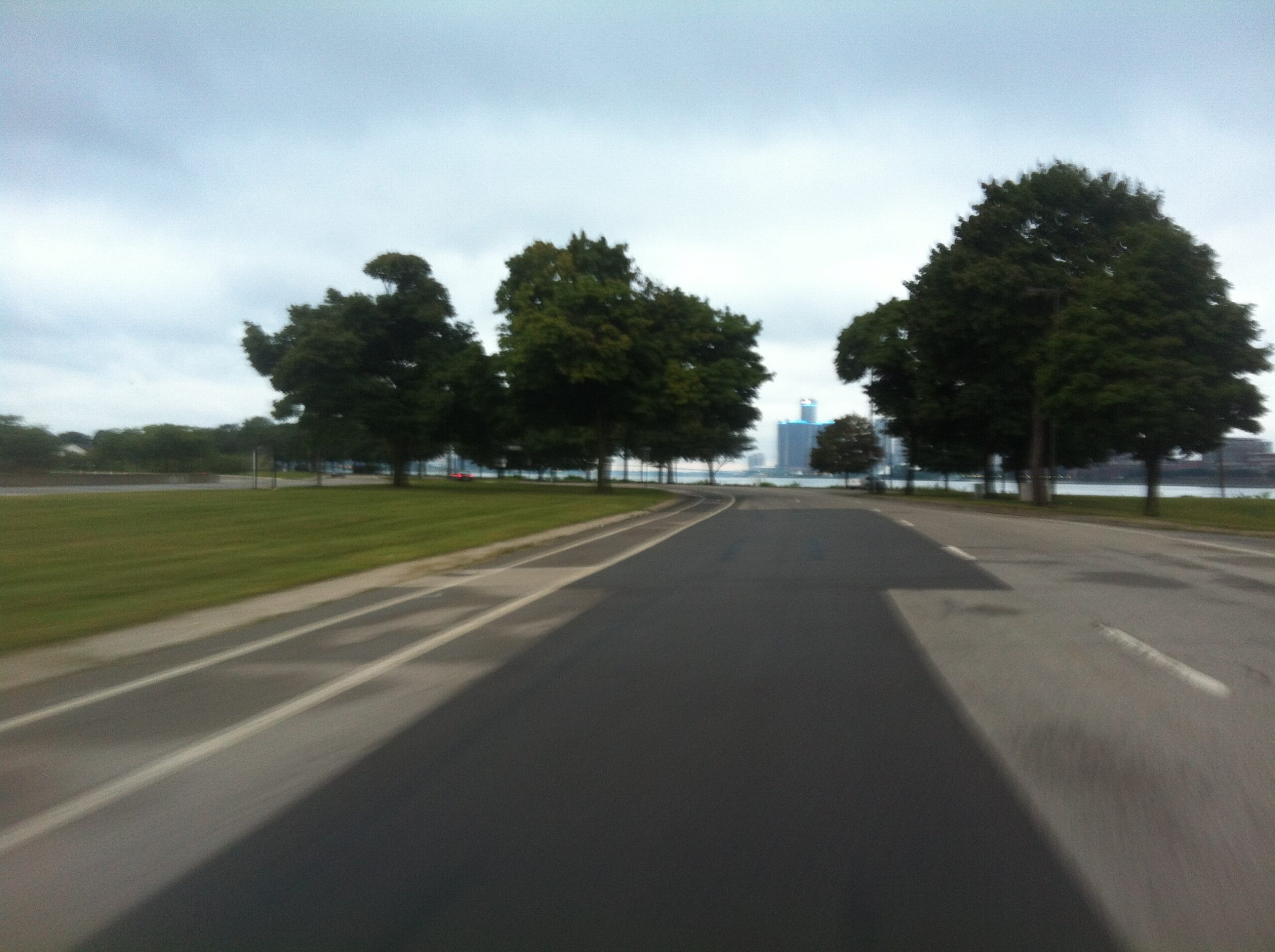 Cycling Belle Isle