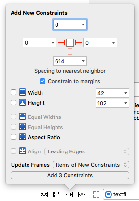UIStackView fill auto layout constraints