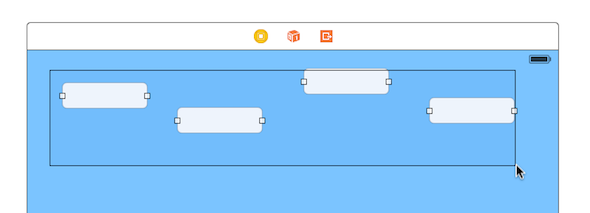 A screenshot of a user adding fields to stack view