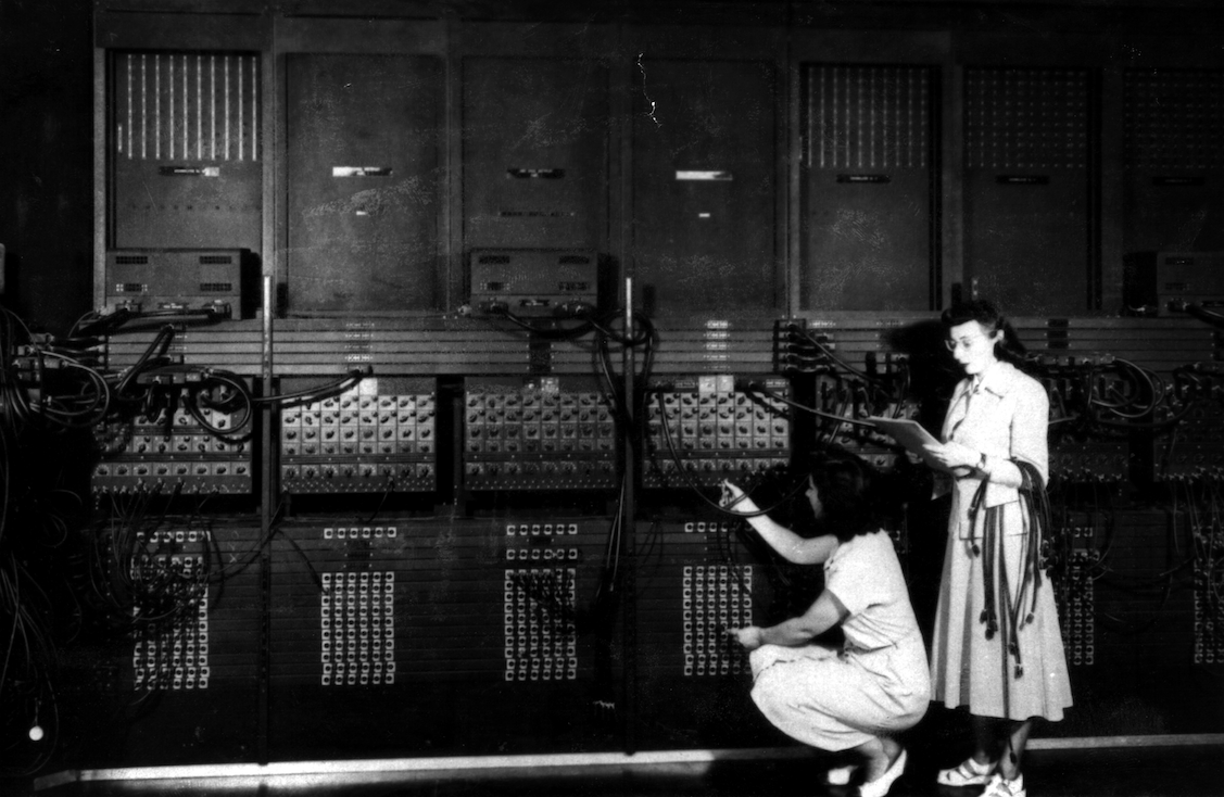 U.S. Army Photo of the ENIAC