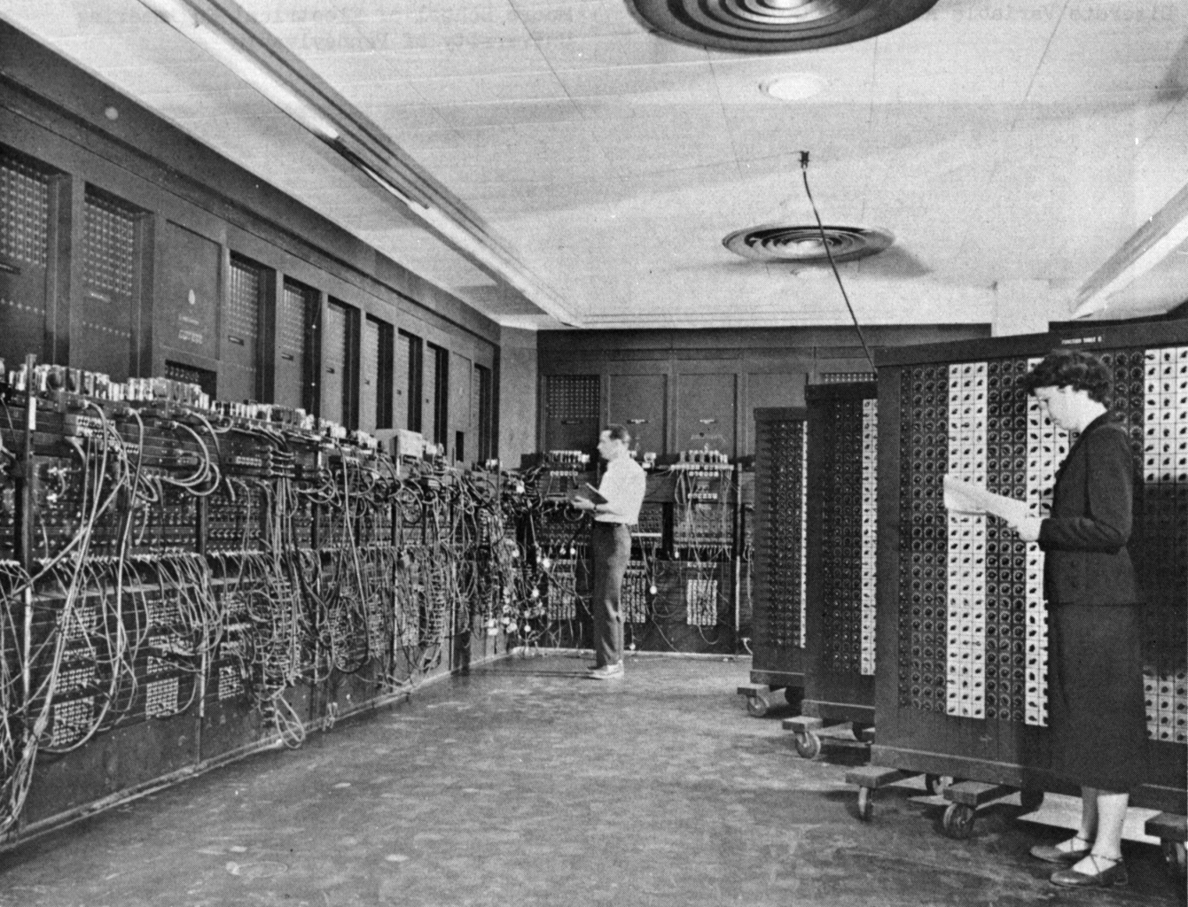 An Old U.S. Army Photo of the ENIAC