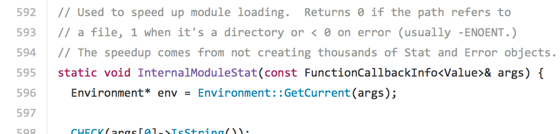 """Example of a comment explaining the """"why"""" behind a function."""
