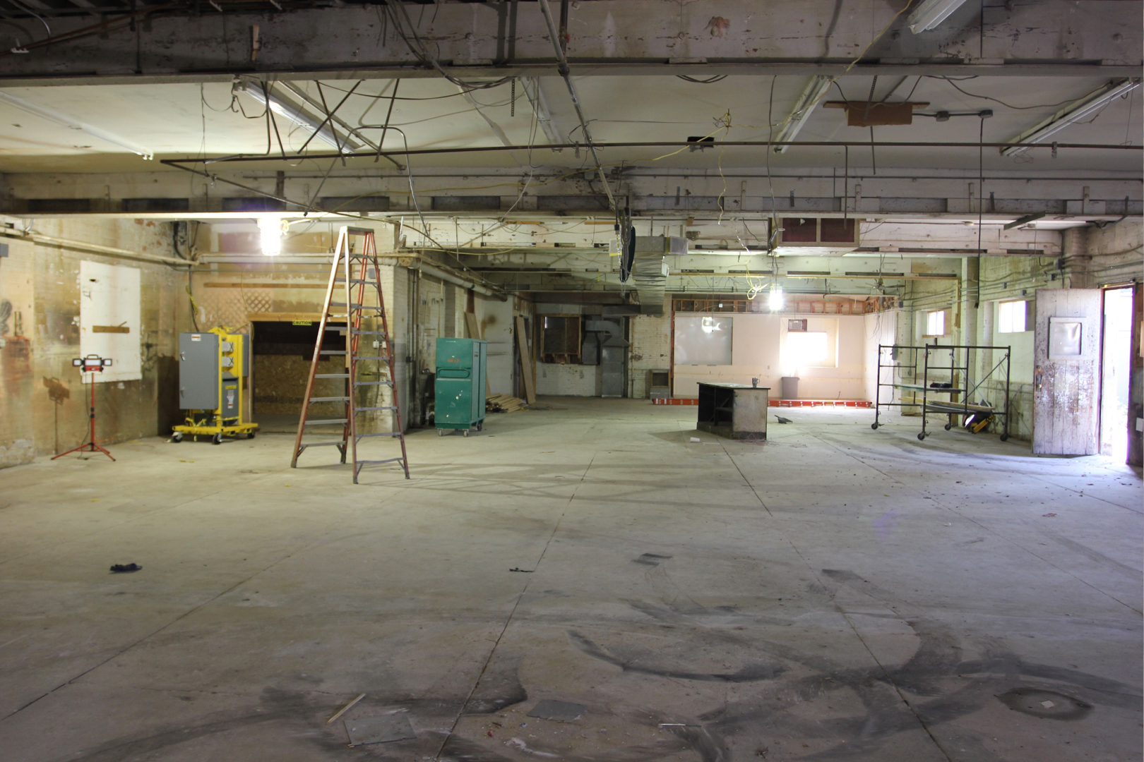 Interior of the 1034 Wealthy Street Construction Site