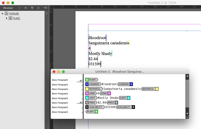 Creating a Dynamic Catalog with InDesign Templates & XML Data