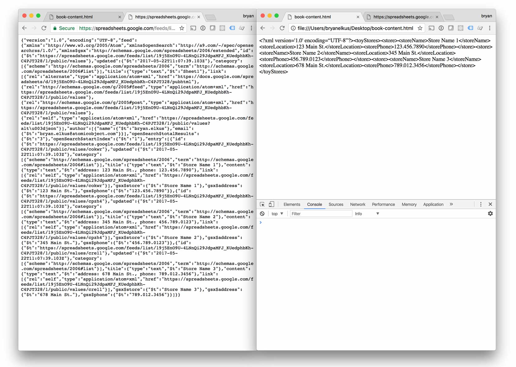 JSON to XML with AngularJS (in Preparation for InDesign)