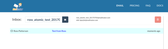 Testing Email Workflows Using Disposable Email Addresses