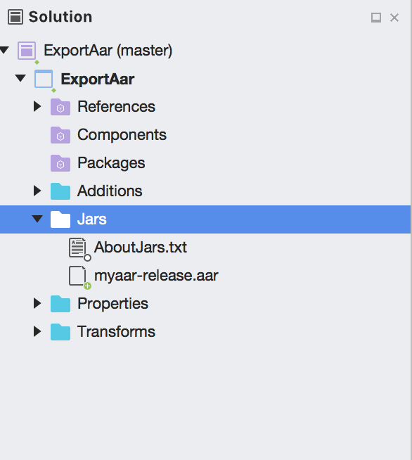 Exporting a Java Library to a Xamarin Forms Android Project