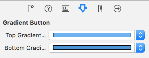 how to make xcode button