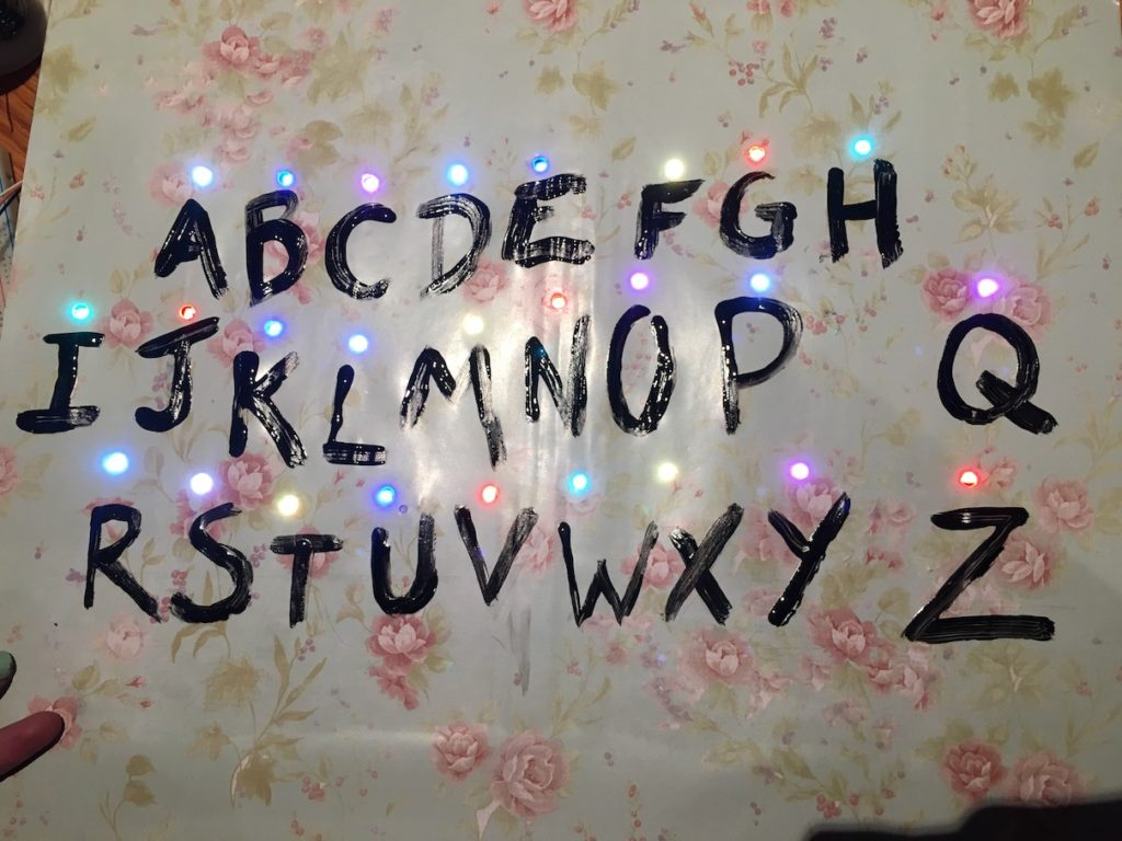 My Diy Stranger Things Alphabet Wall Part 1 Esp8266 Craft Time