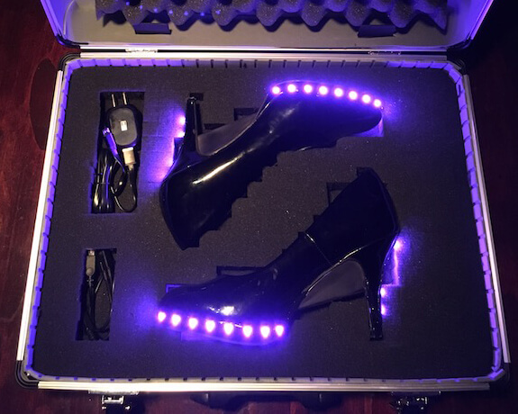 Making Your Own LED Light-Up High Heels