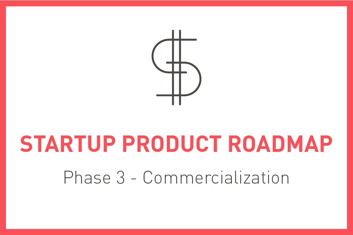 Startup Product Roadmap, Phase 3 - Commercialization