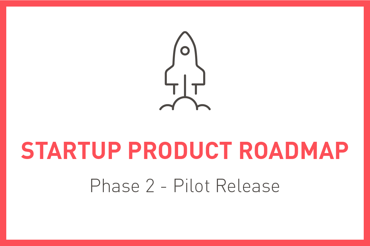 Startup Product Roadmap, Phase 2 - Pilot Release