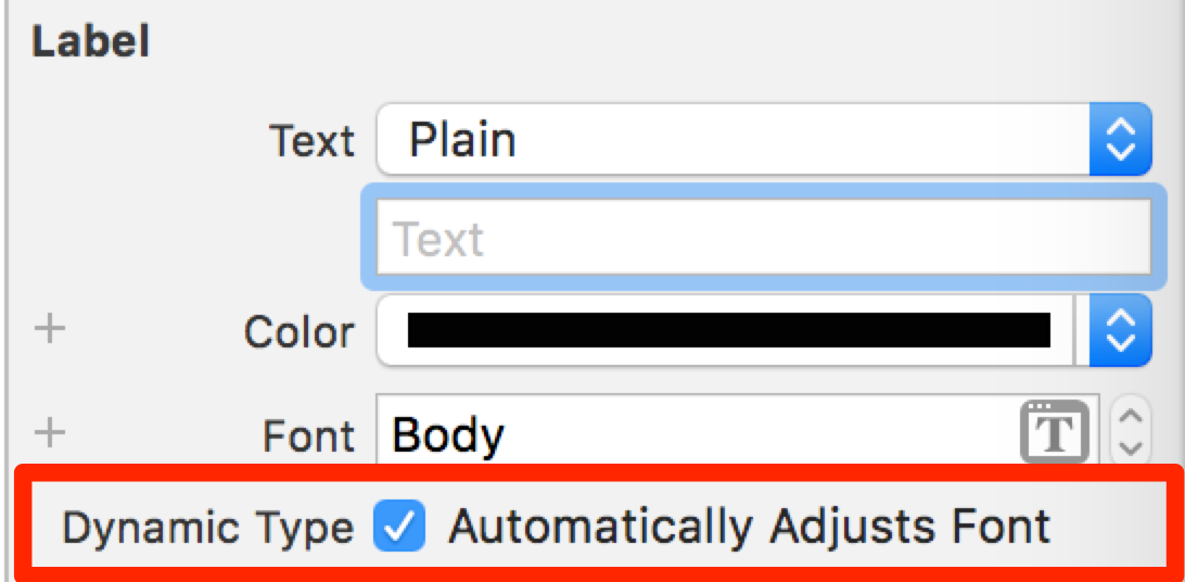 Handling Dynamic Type Changes in a Static UITableView