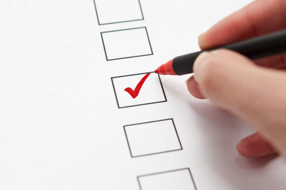 Checklist Feature Requirements