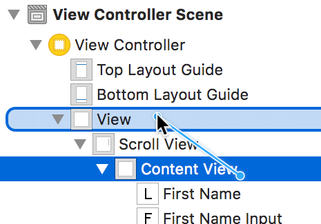 Using UIScrollView with Auto Layout in iOS