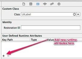 Add runtime attributes