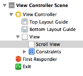 Adding a UIscrollView with constraints