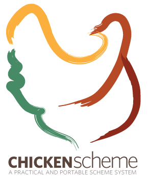 The CHICKEN Scheme logo