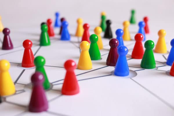 Game Pieces on a Board