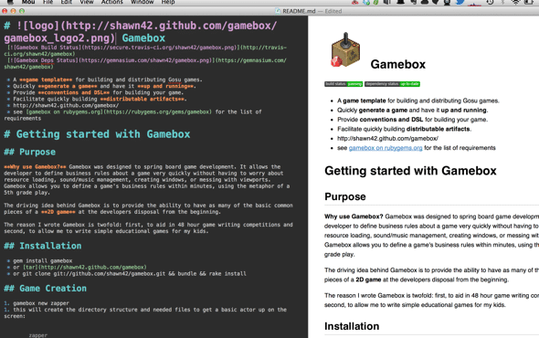 Gamebox documentation